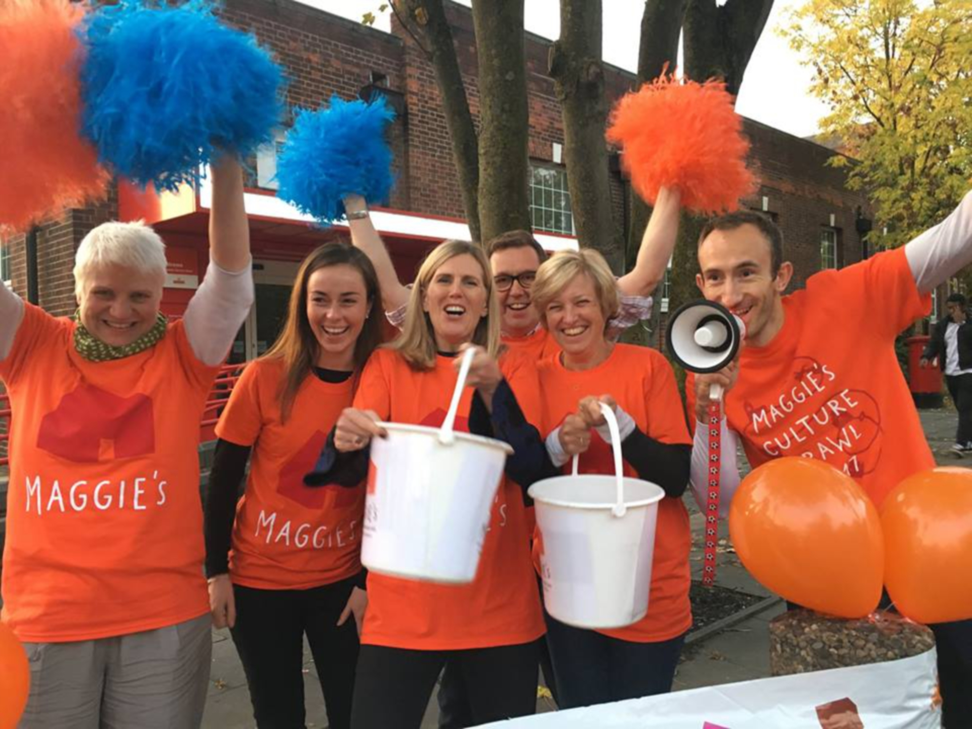 Maggie's fundraisers make a world of difference.