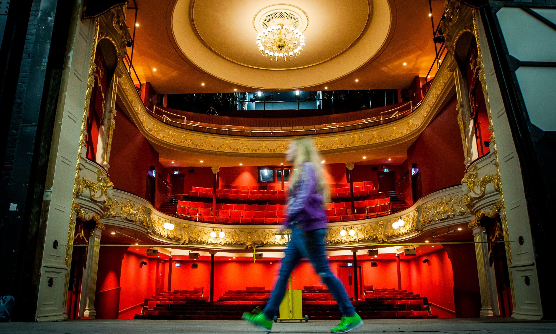 The restored auditorium at Perth Theatre
