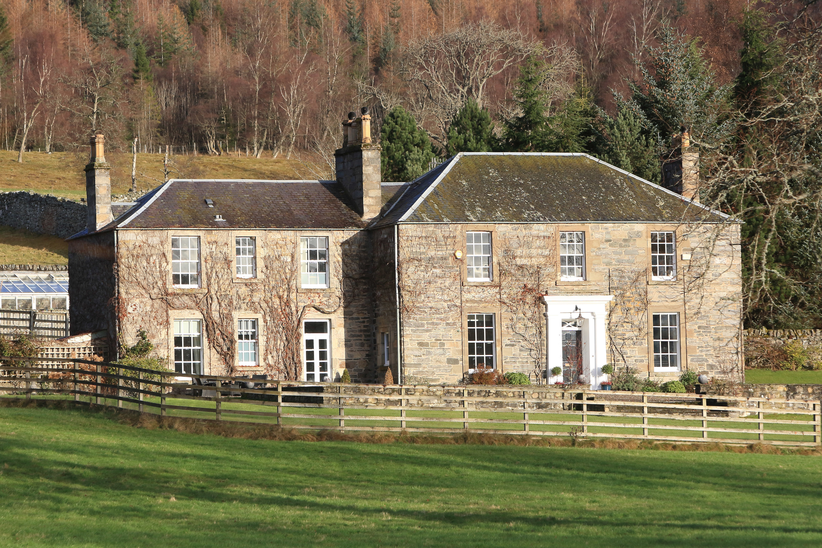 The Old Manse between Blair Atholl and Bruar