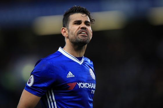 Diego Costa took the huff at Chelsea in the summer.