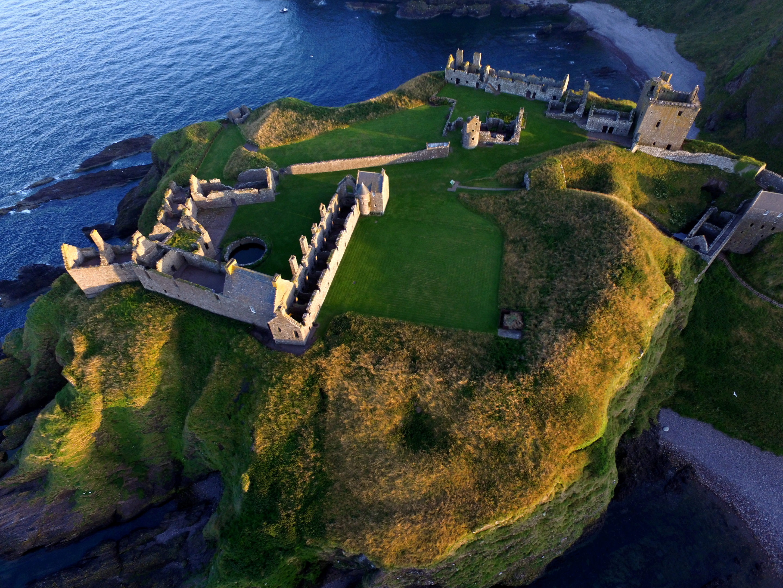 Dunnottar Castle, near Stonehaven.