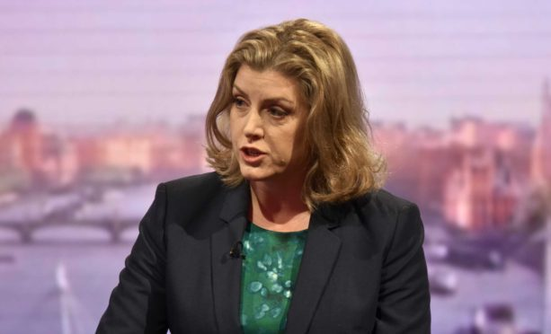 """International development secretary Penny Mordaunt called the sexual exploitation of vulnerable people by aid workers """"grotesque""""."""