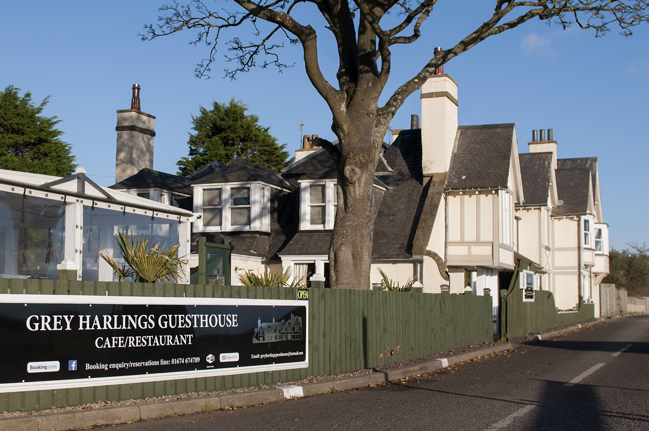Grey Harlings Guest House in Montrose.