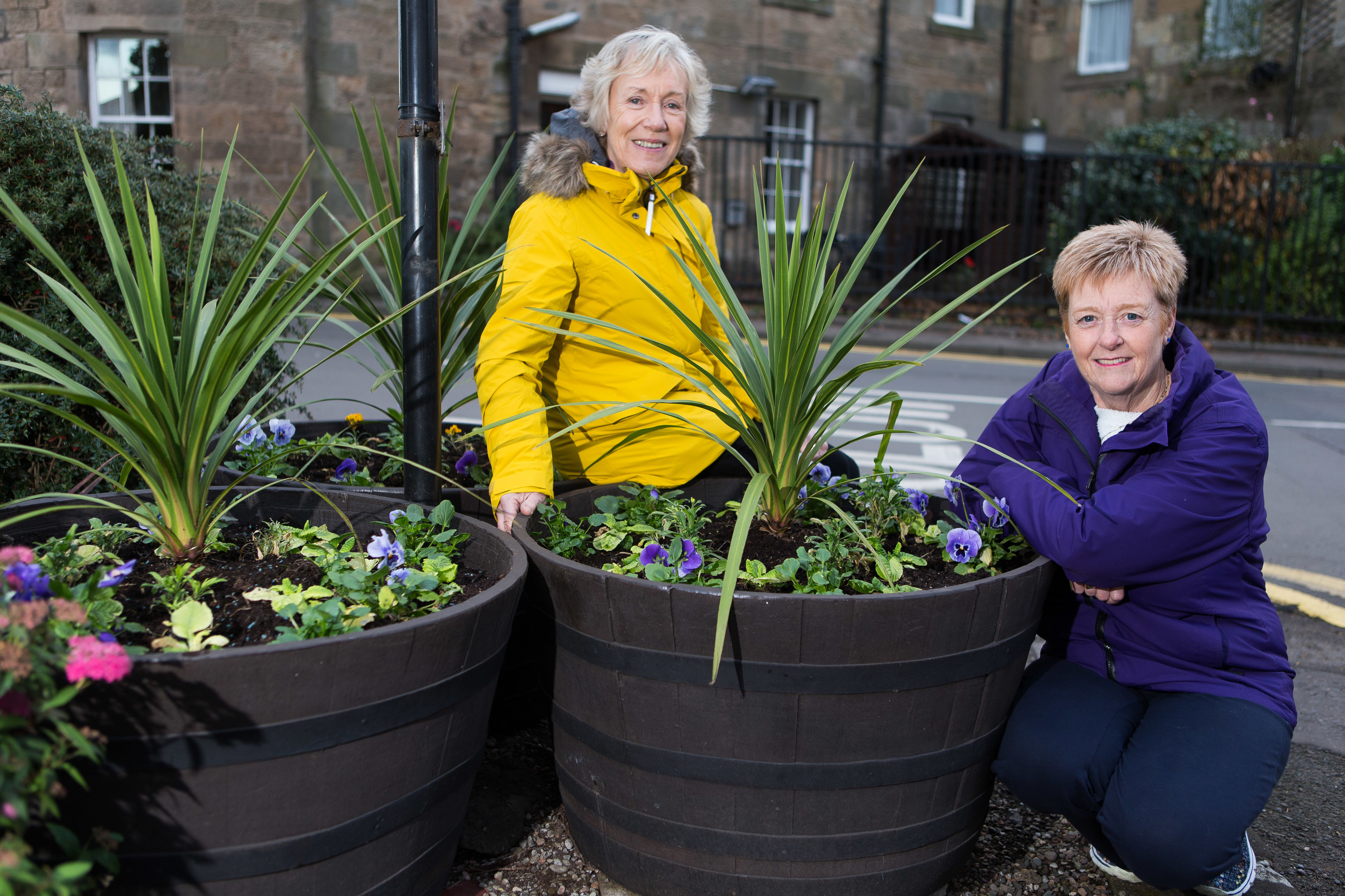 Carole Lang and Fiona Towns are appealing for volunteers