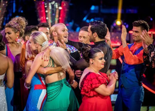 Jonnie Peacock was voted off Strictly at the weekend.