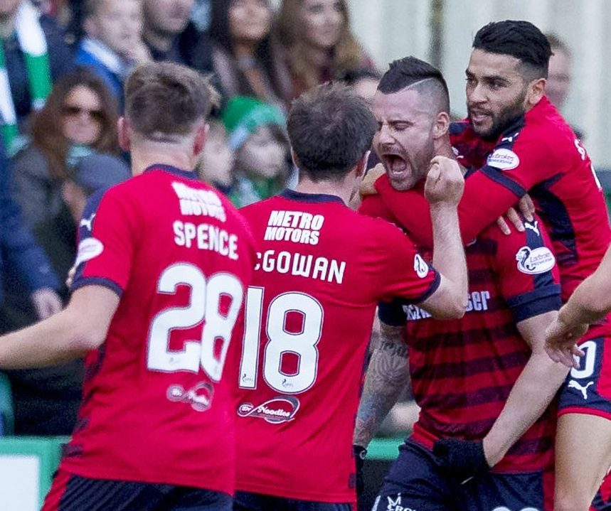 Dundee could do with a few more goals from Marcus Haber.