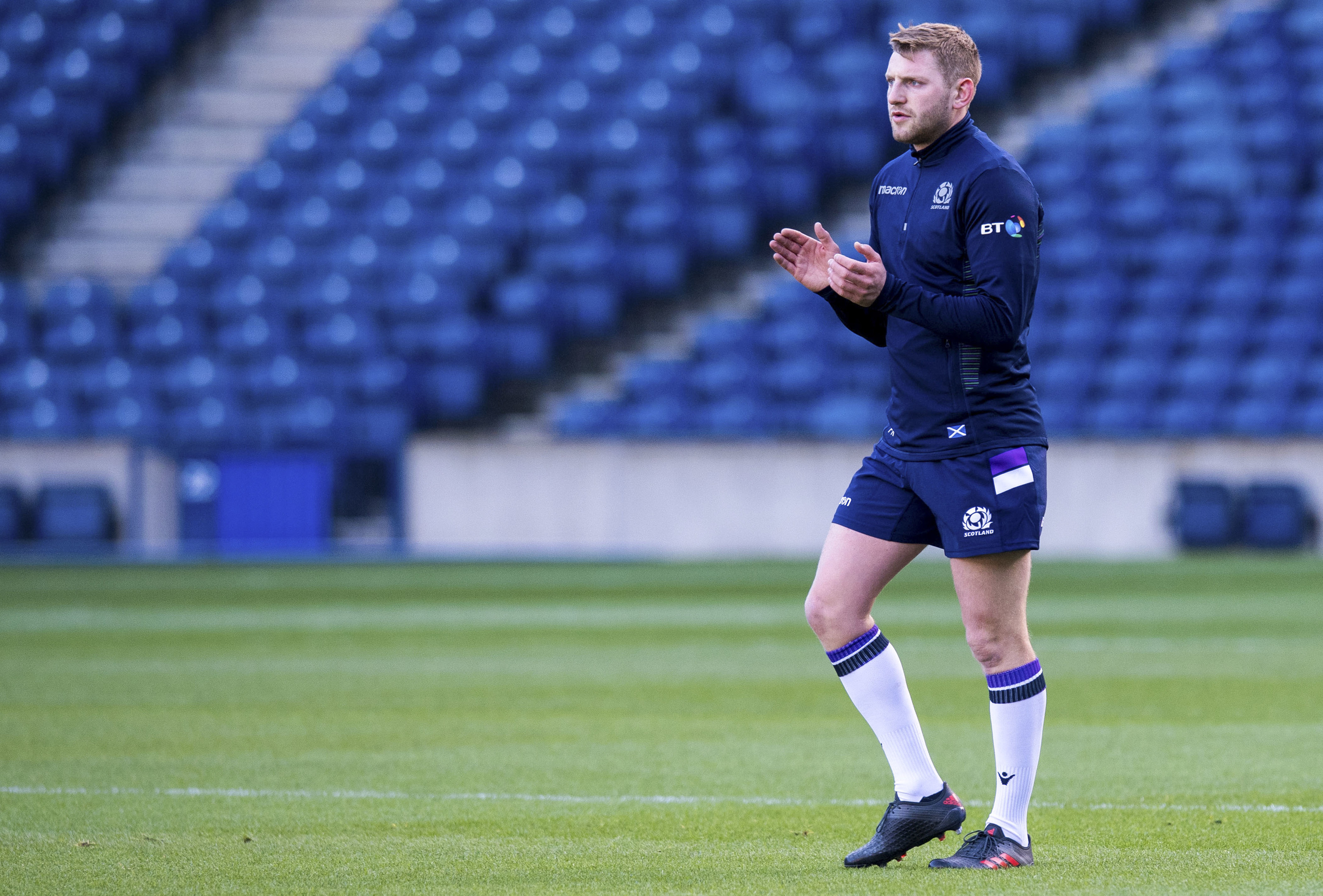 Finn Russell has assumed the role of Scotland's most important player.