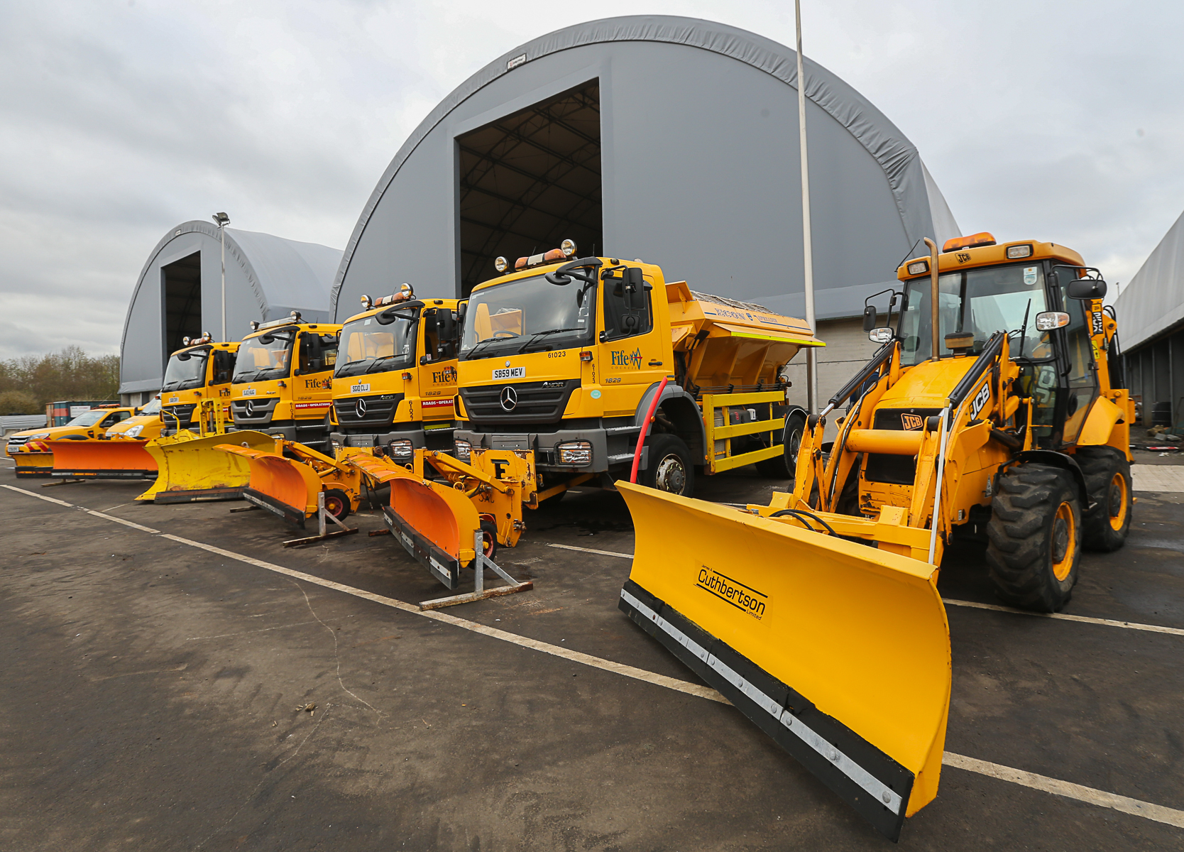 Fife Council says it is ready to meet the demands of winter.