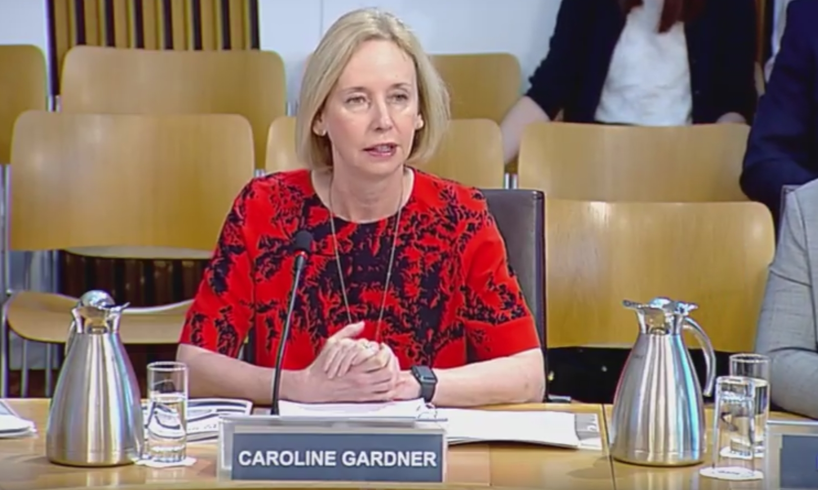 Caroline Gardner, the Auditor General