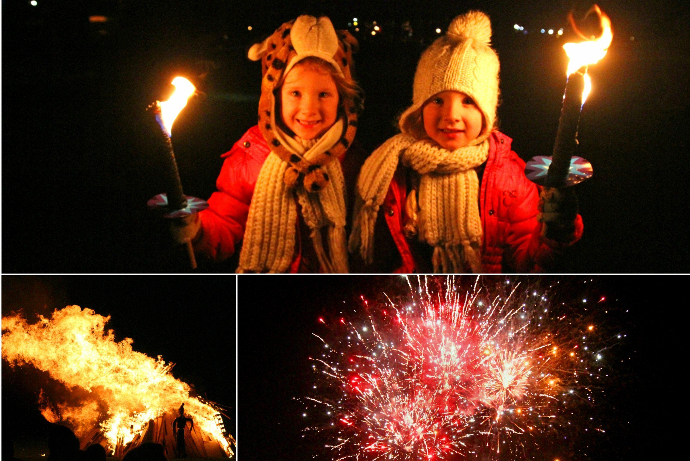 Carnoustie fireworks night. Photos: Gareth Jennings.