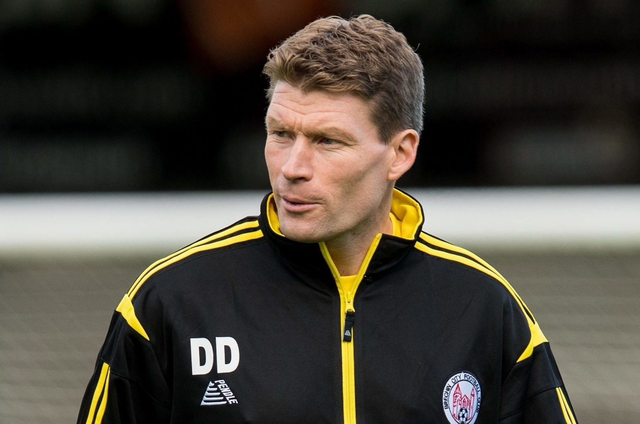 Darren Dods says it's getting harder for clubs like Brechin to compete for players