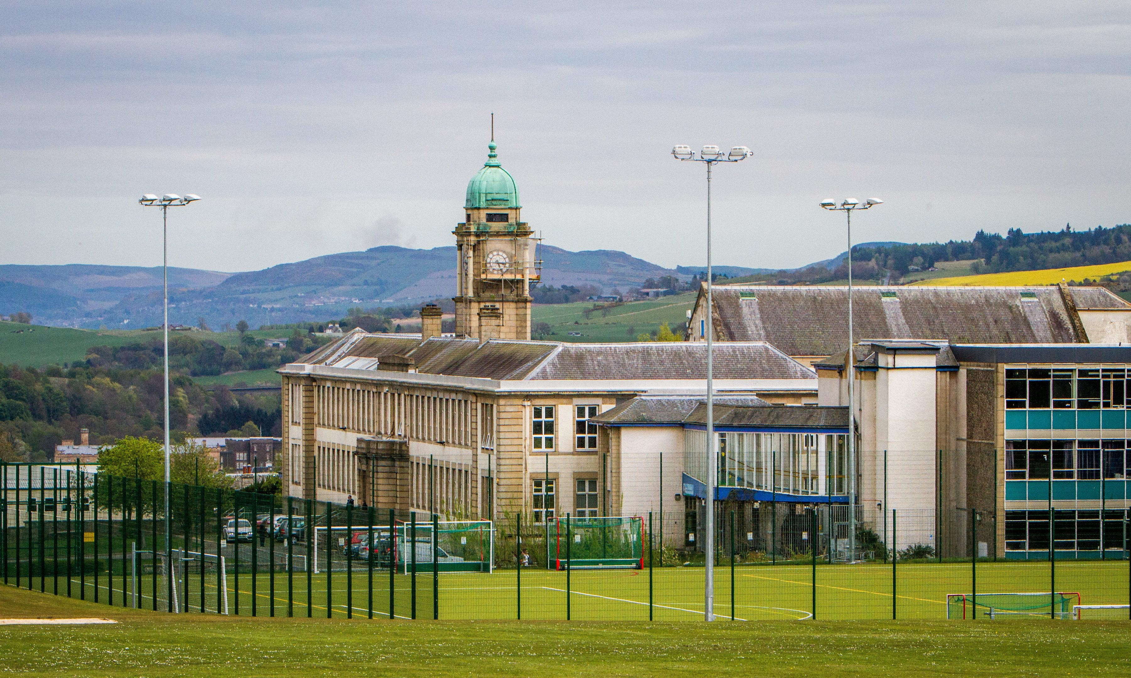 Perth Academy reported more pest control issues than any other school