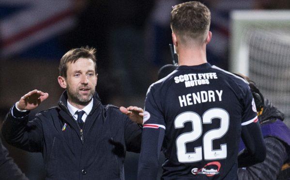 Neil McCann and Jack Hendry.