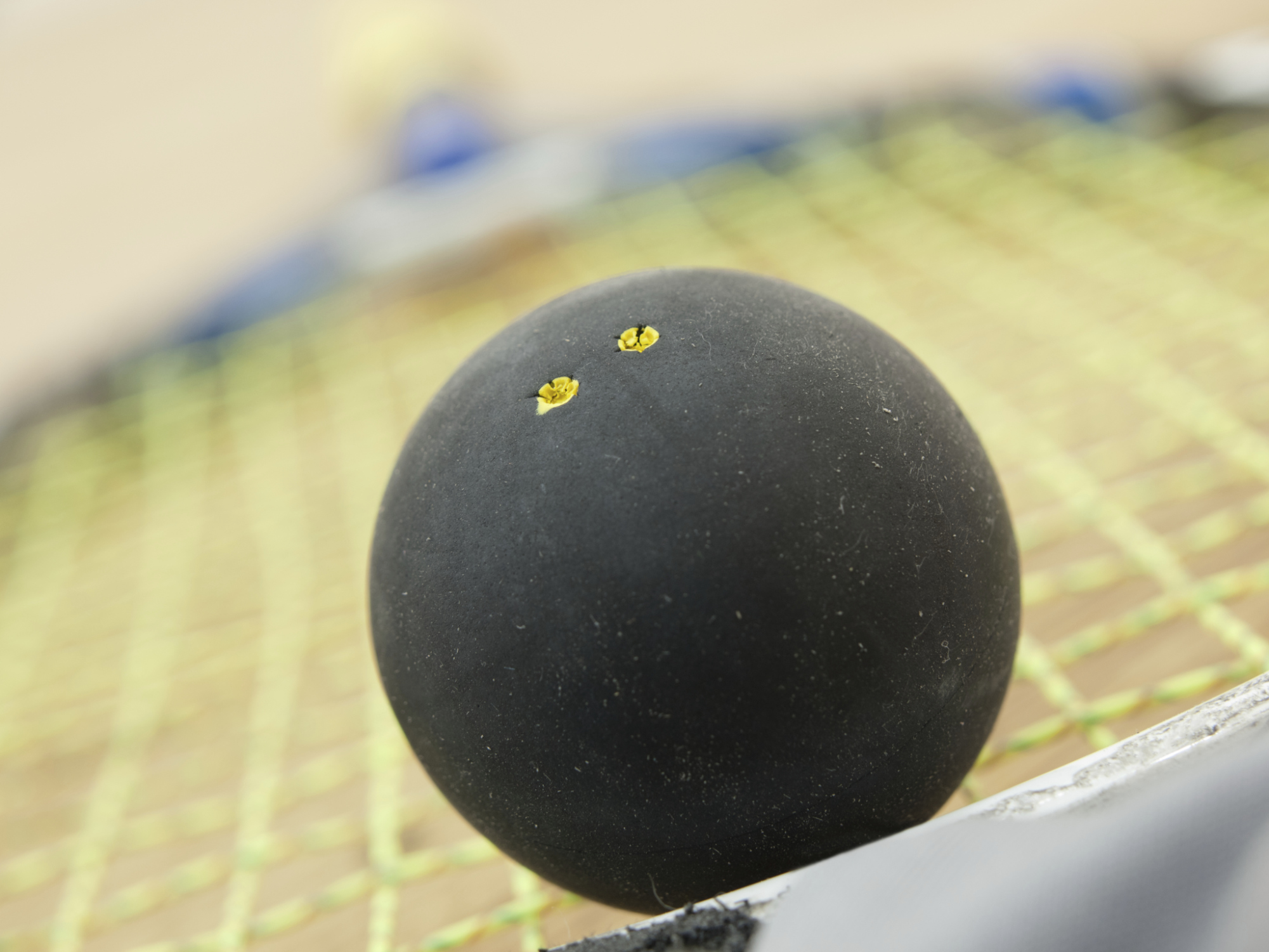 A hole in the squash court took six months to fix