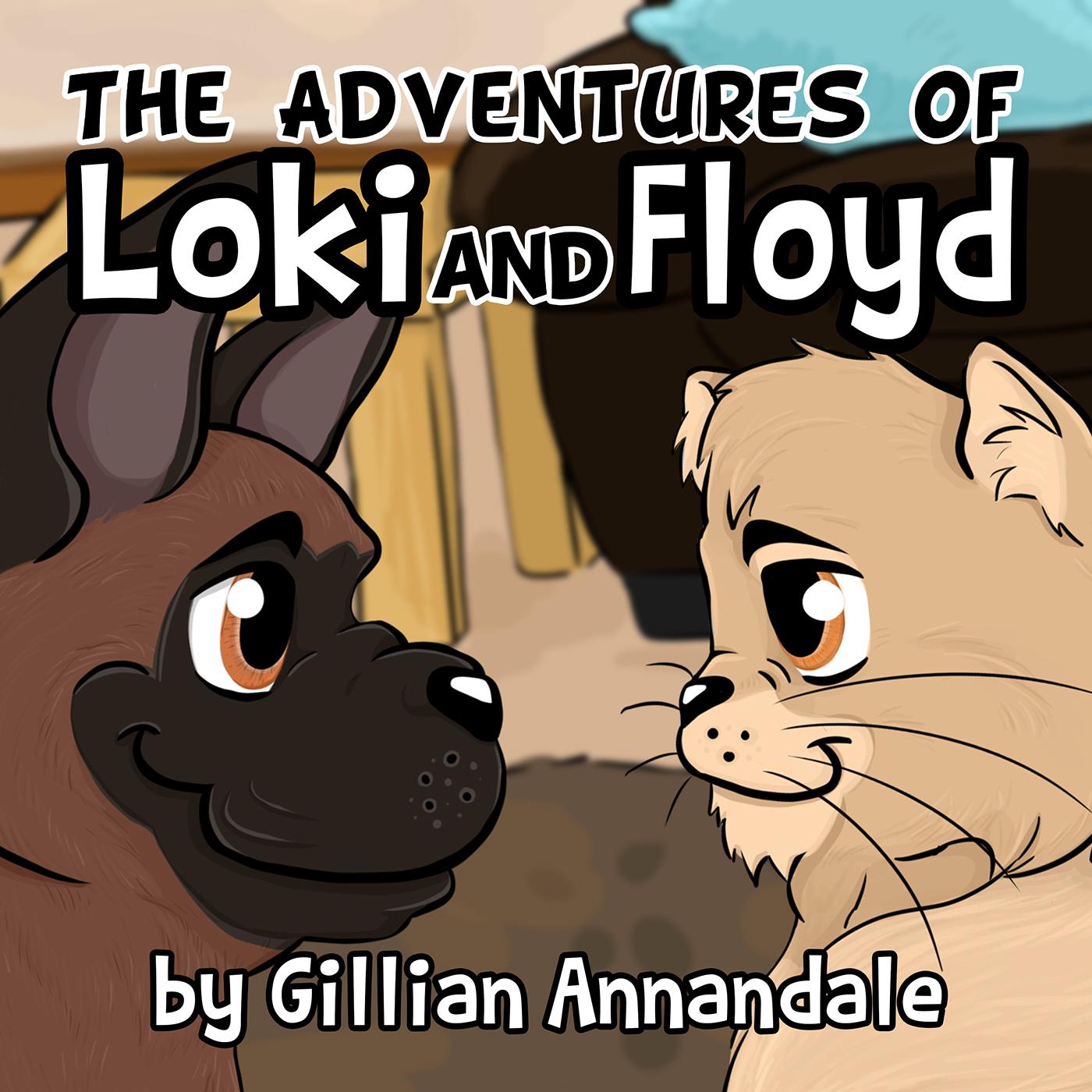Loki and Floyd are back.