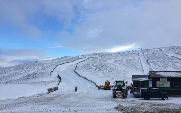 Glenshee is welcoming snowboarders and skiers.
