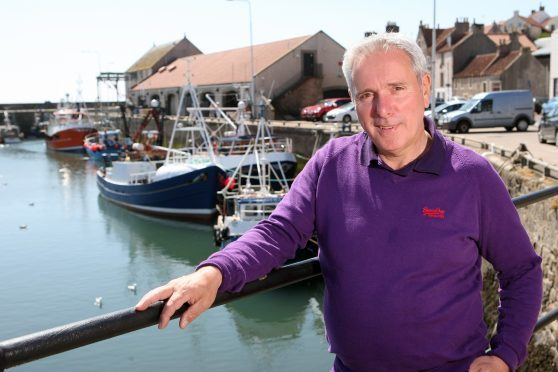 Tom Mackenzie, of Fishermen's Mutual Association, said turbines could make the fishing ground a no-go zone.