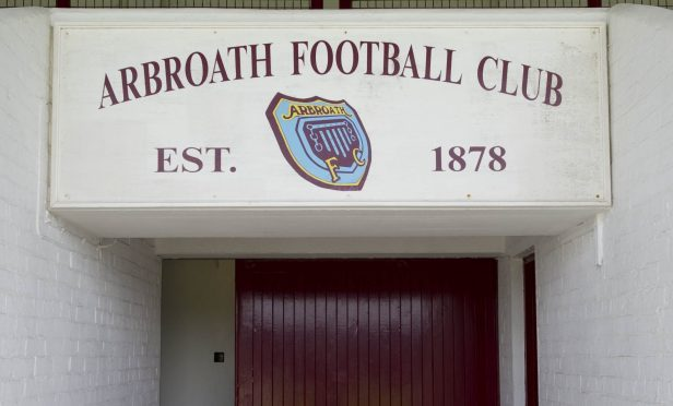 Jimmy's senior career began at Arbroath in 1947.