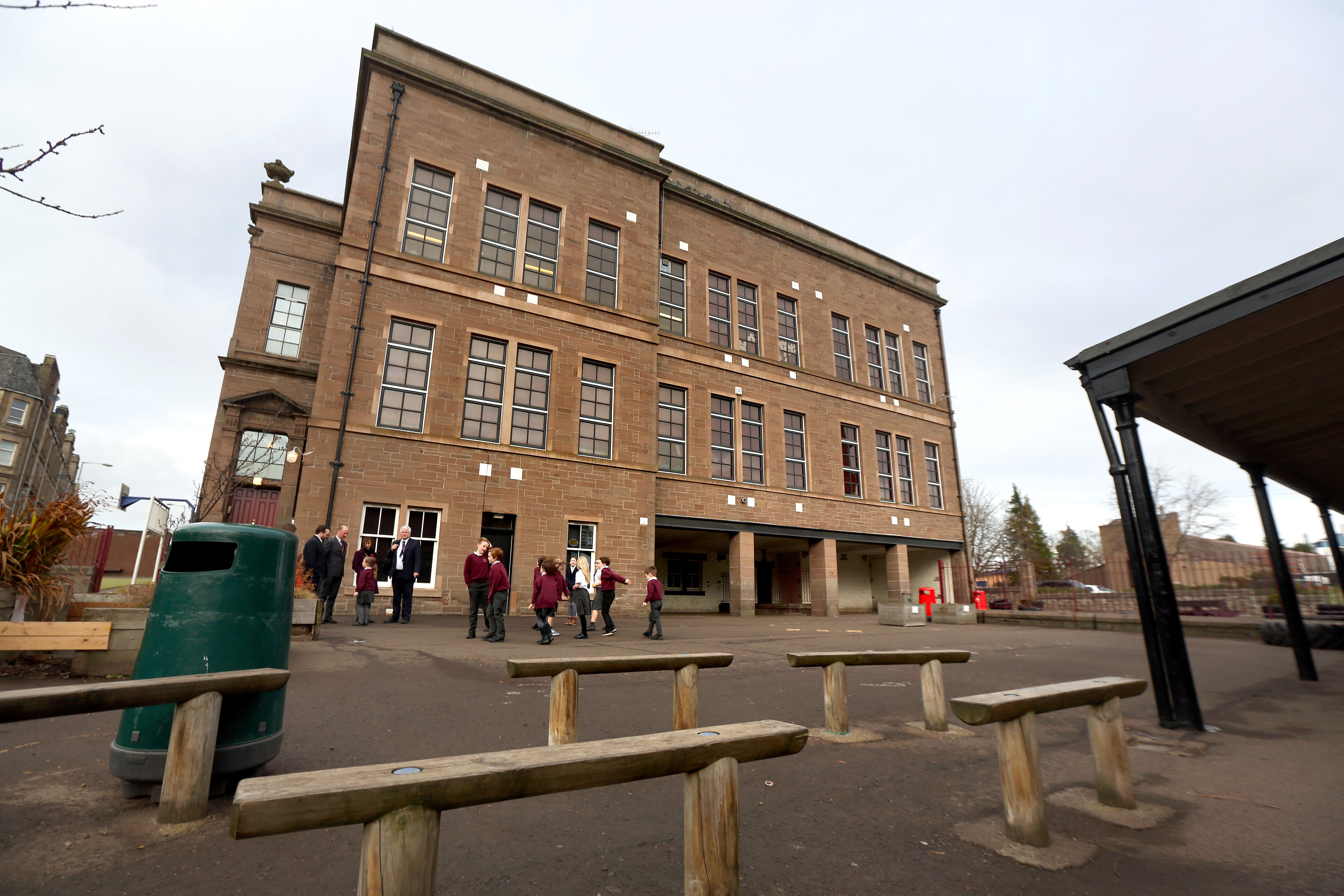 Blackness Primary School, which is part of the council's Victorian and Edwardian estate.