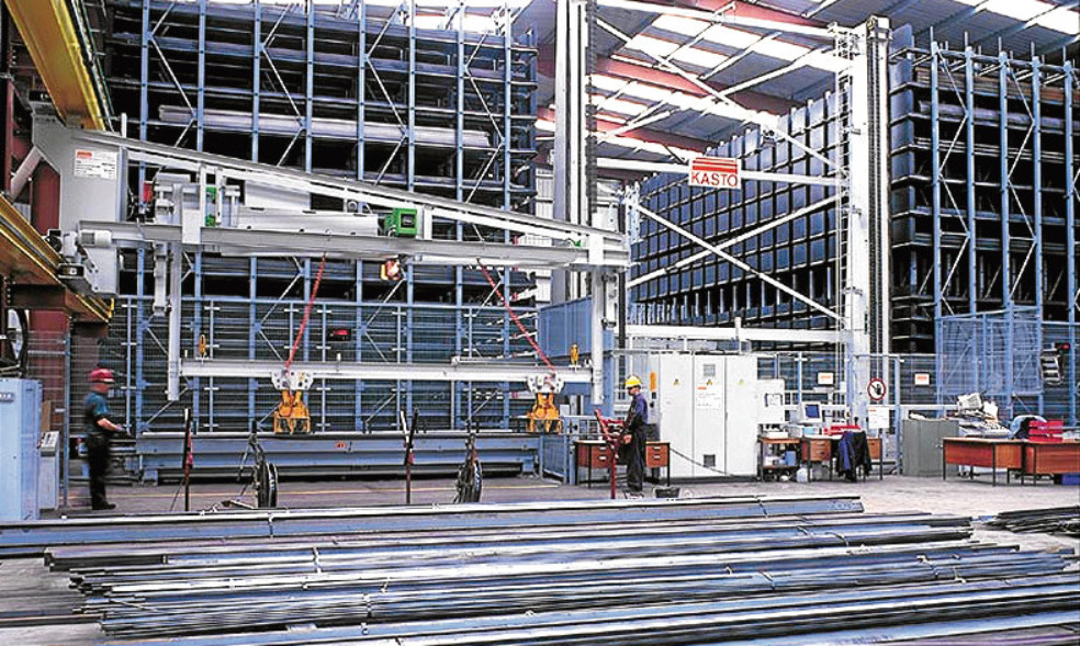 Brown & Tawse Dundee's automated racking and retrieval system.
