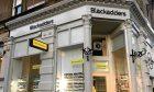 Blackadders property shop on Whitehall Street, Dundee.
