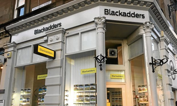 Blackadders estate agent in Dundee