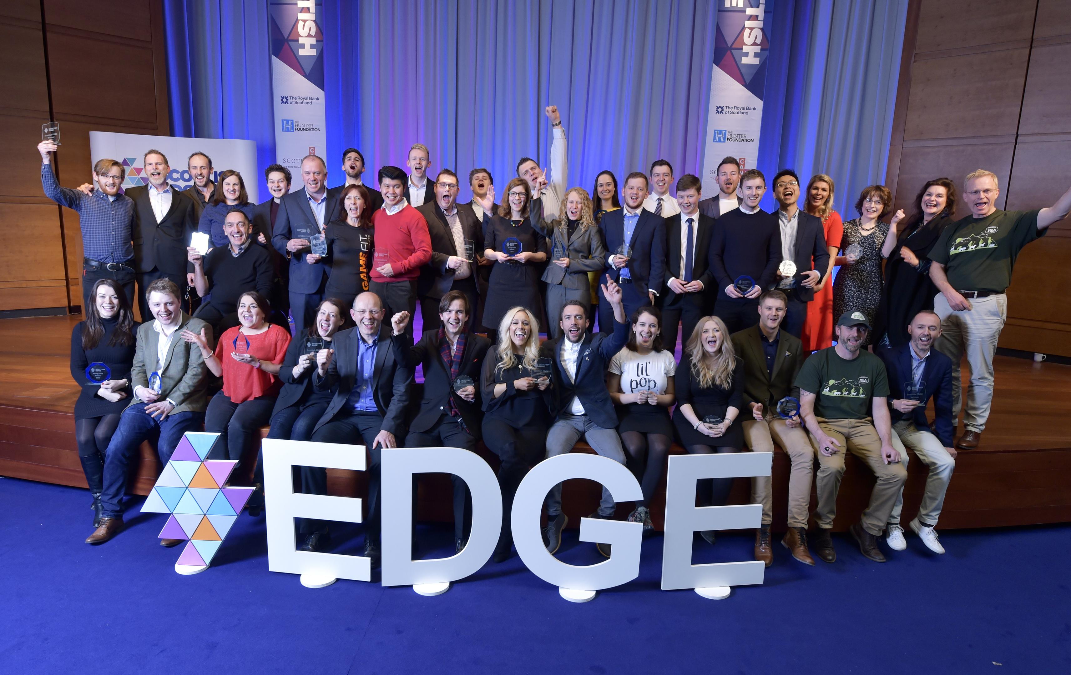 Scottish EDGE 11 award winners