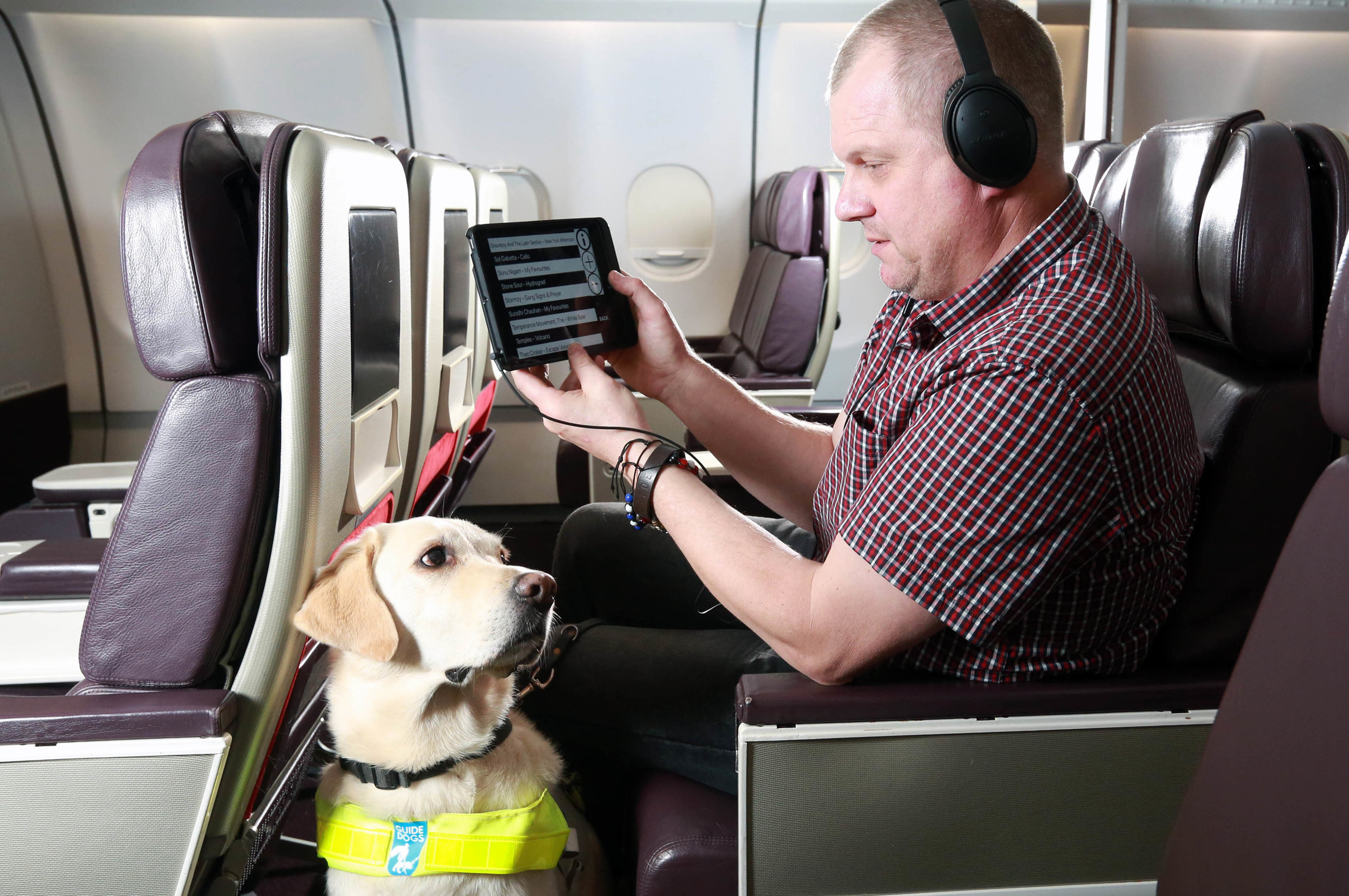 The app has been developed specifically for visually impaired customers on board Virgin Atlantic services.