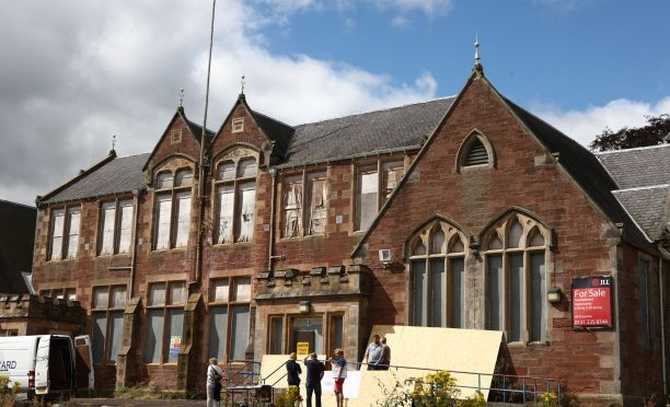 The former Hill Primary School in Blairgowrie.