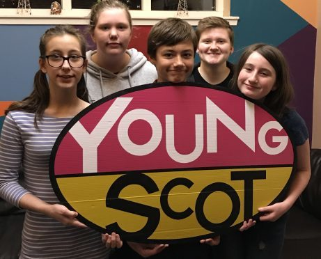 Members of Cupar Youth Cafe