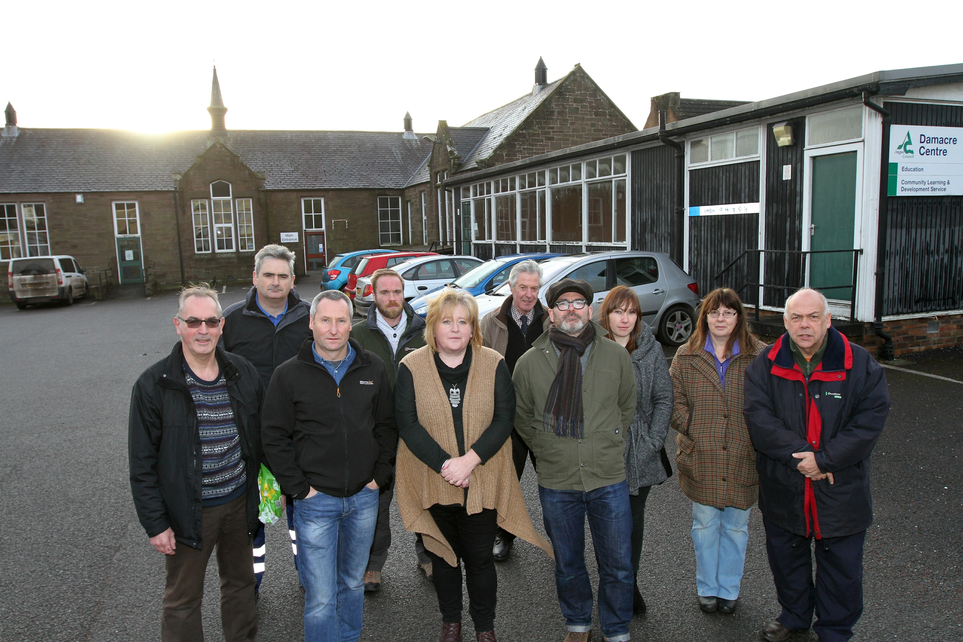 Brechin residents are angry at council plans to demolish the former Damacre Centre