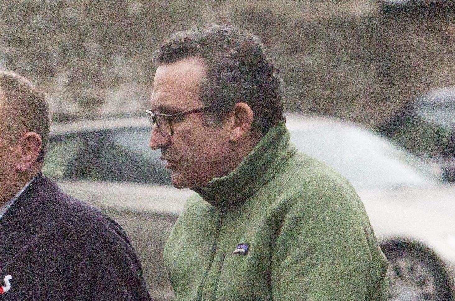 Halim Cholmeley appearing at Forfar Sheriff Court.