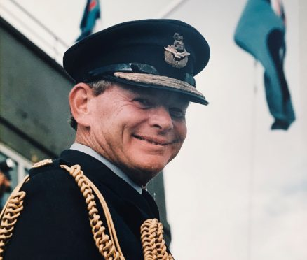 Air Commodore Jack Haines