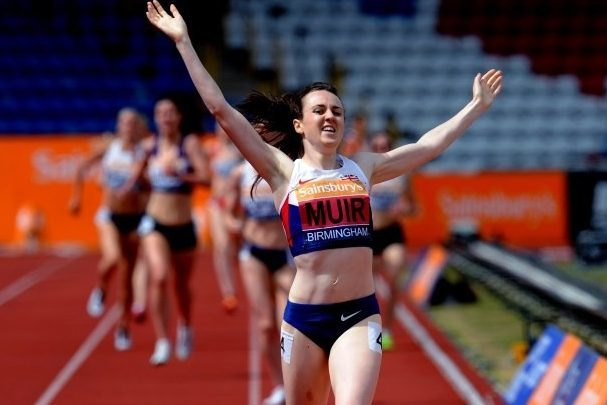 Laura Muir, a former winner of the Perth and Kinross Sports Person of the Year.