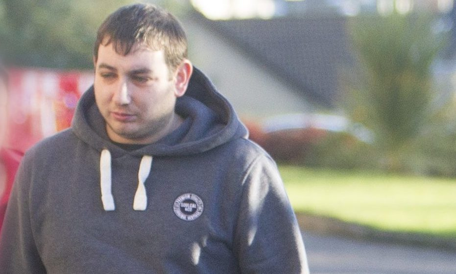 Philip Ramshaw appearing at Forfar Sheriff Court.