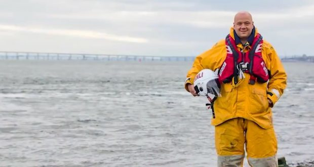 Ben Thomson joined the Broughty Ferry lifeboat crew after his life was saved