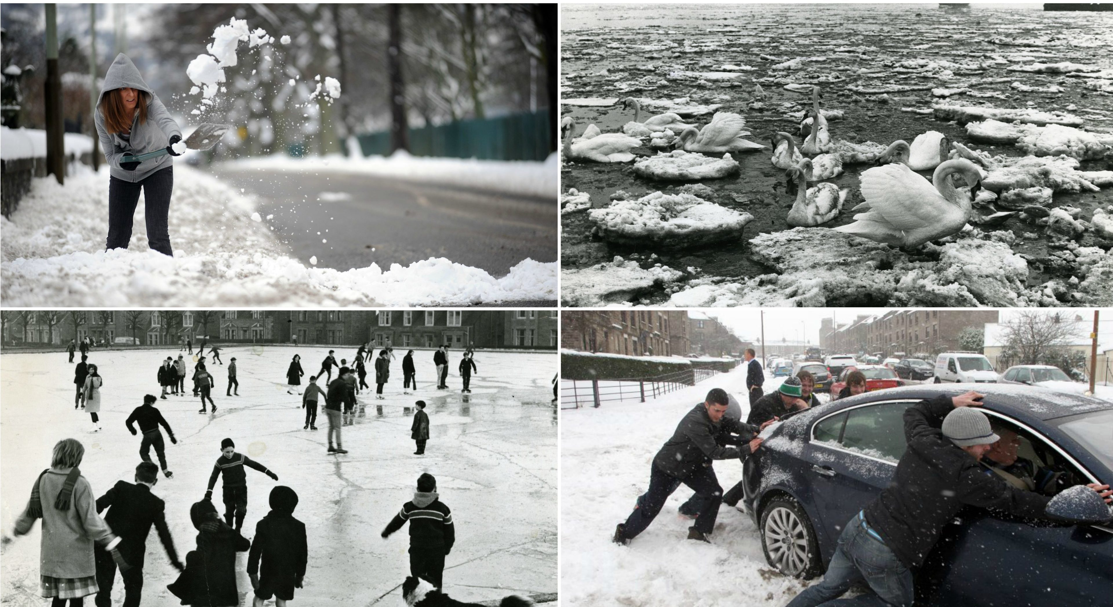 Photos from some of Tayside's harshest winters.