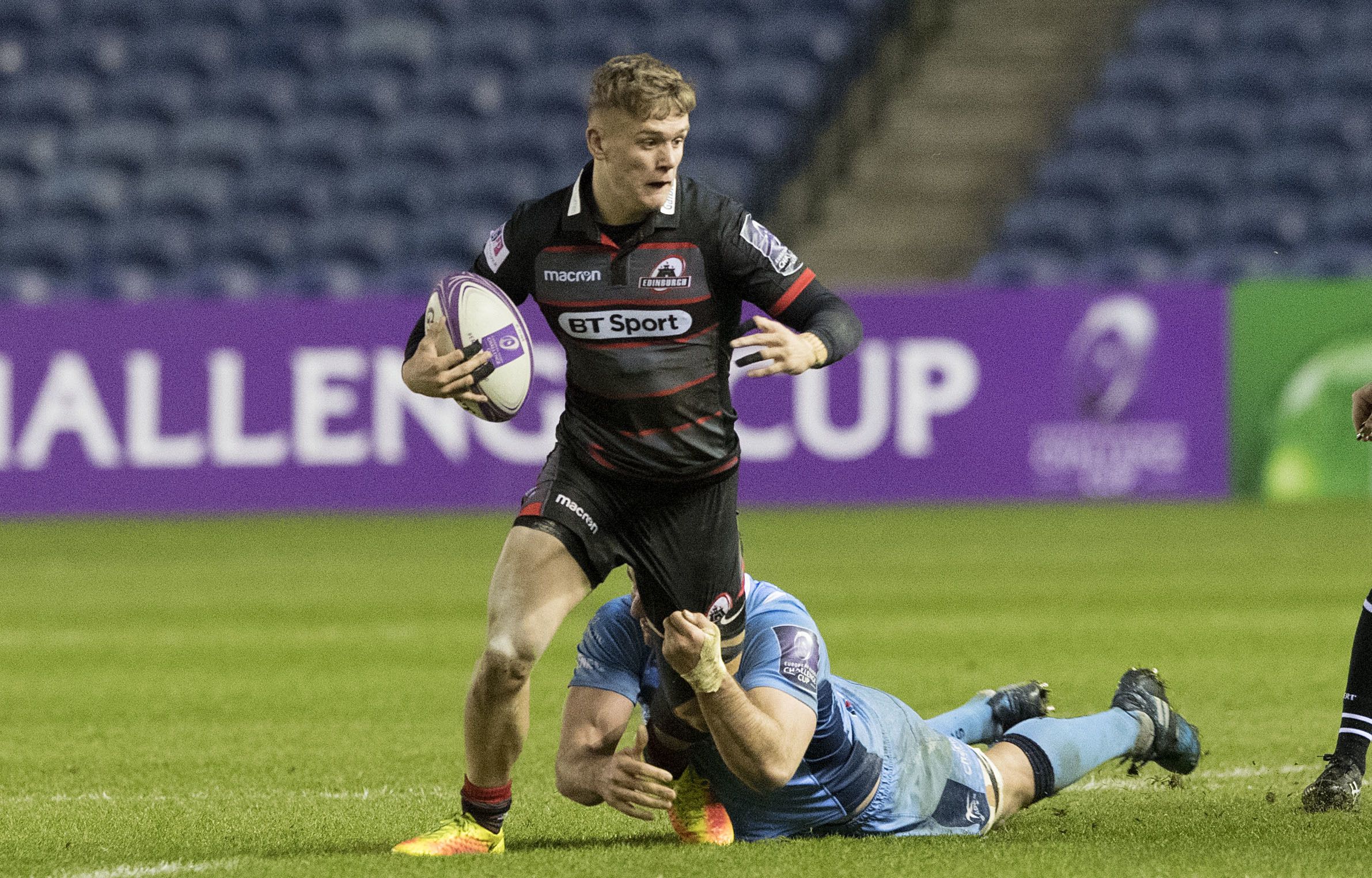 Darcy Graham scored a try from the wing on debut but will play full back against Krasny Yar.