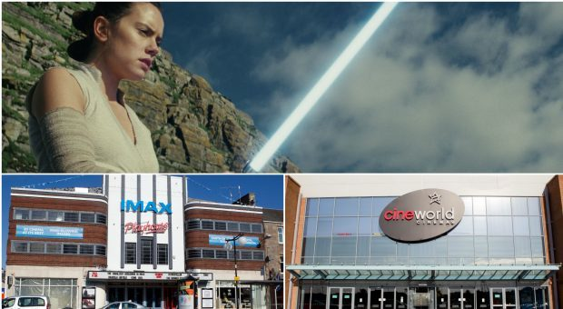 Star Wars: The Last Jedi is coming to screens across Tayside and Fife on Thursday.