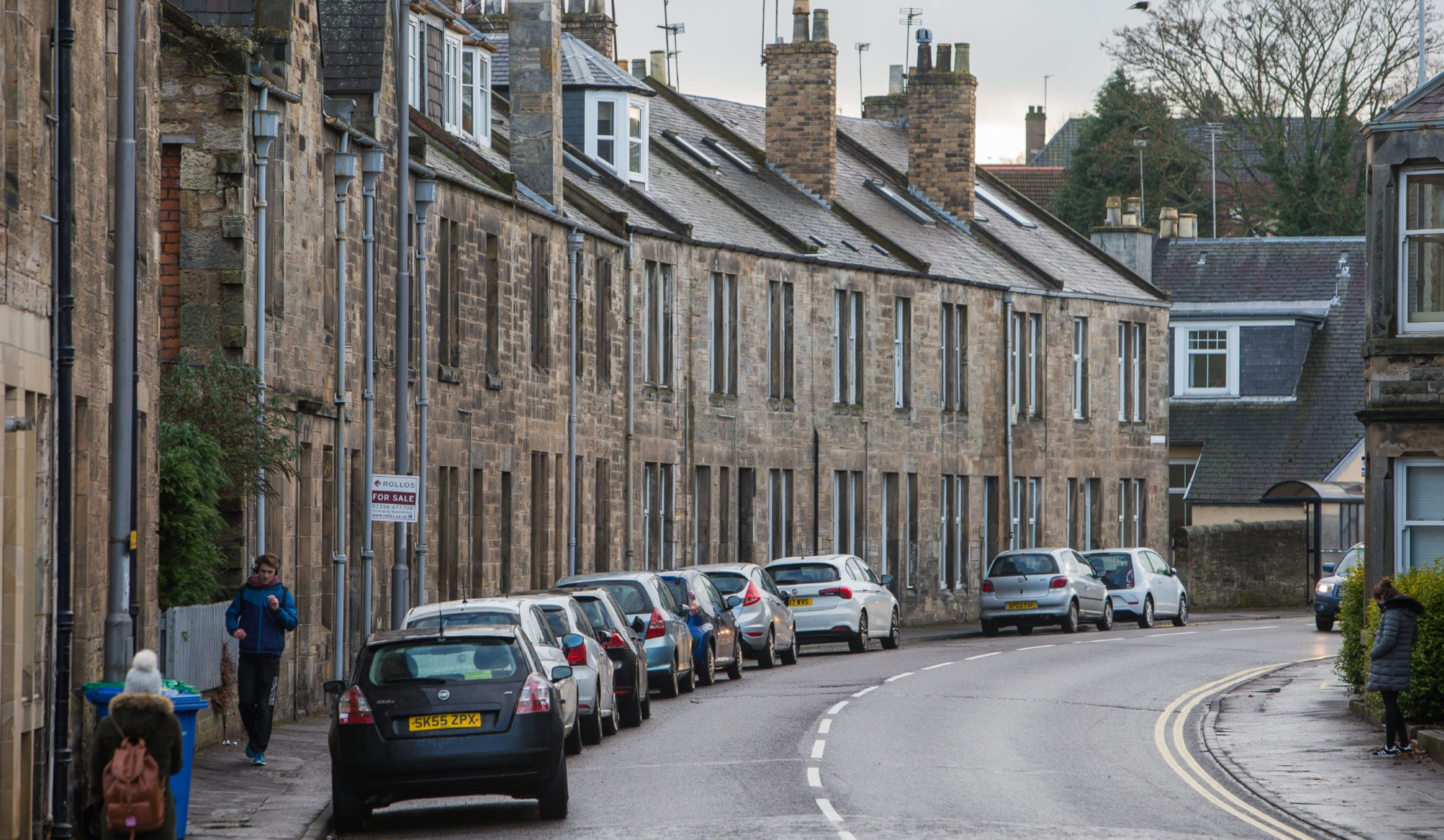 Bridge Street in St Andrews, 54% of which are HMO