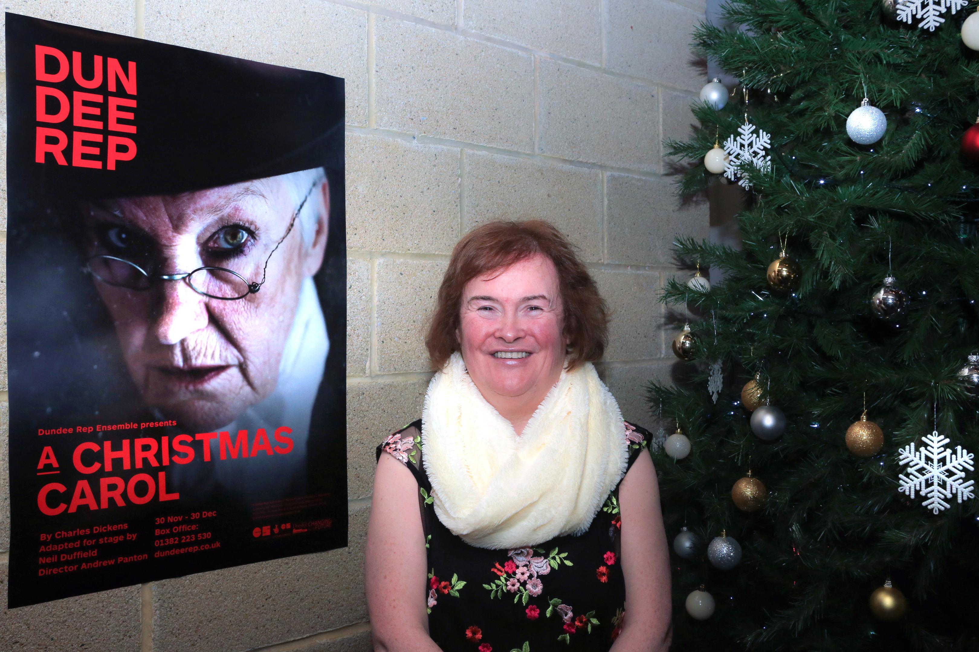 Susan Boyle at Dundee Rep.