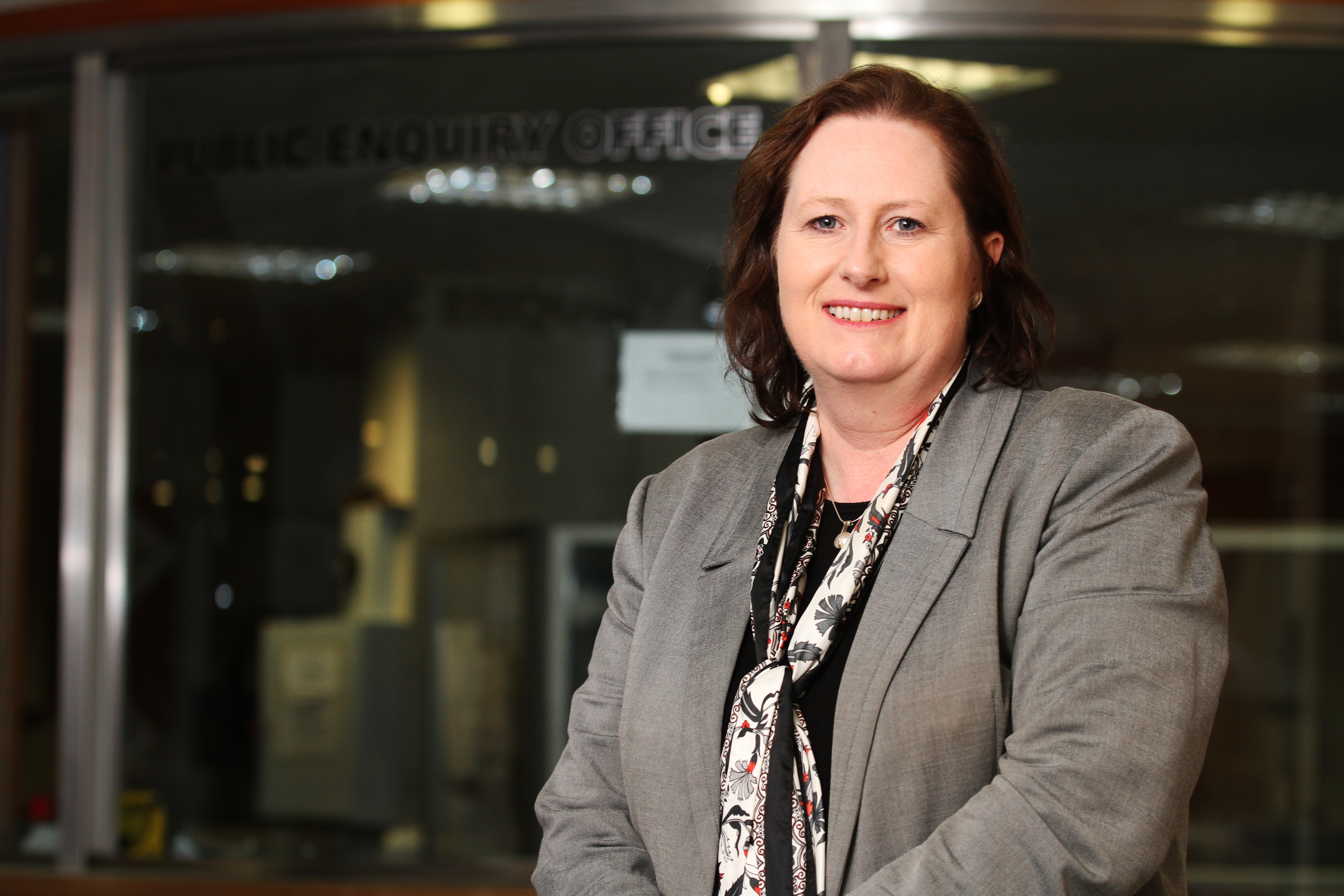Susan Deacon at Police Scotland's Tayside Division headquarters in Bell Street.