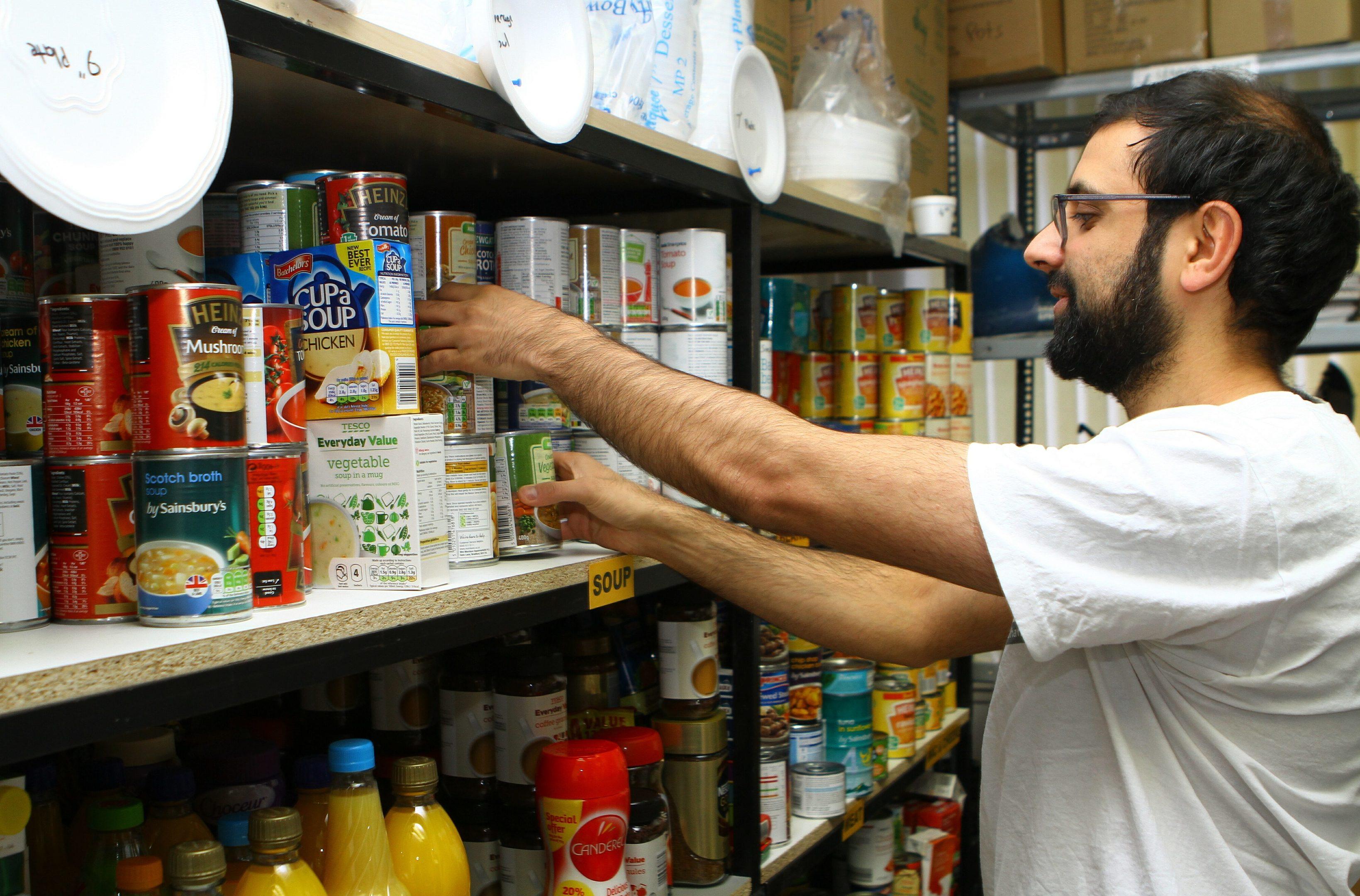 Taught By Muhammed foodbank project co-ordinator Rizwan Rafik
