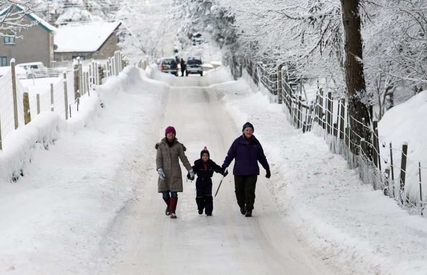 Altnaharra, which was named the coldest place in the country during the 2009-10 winter.