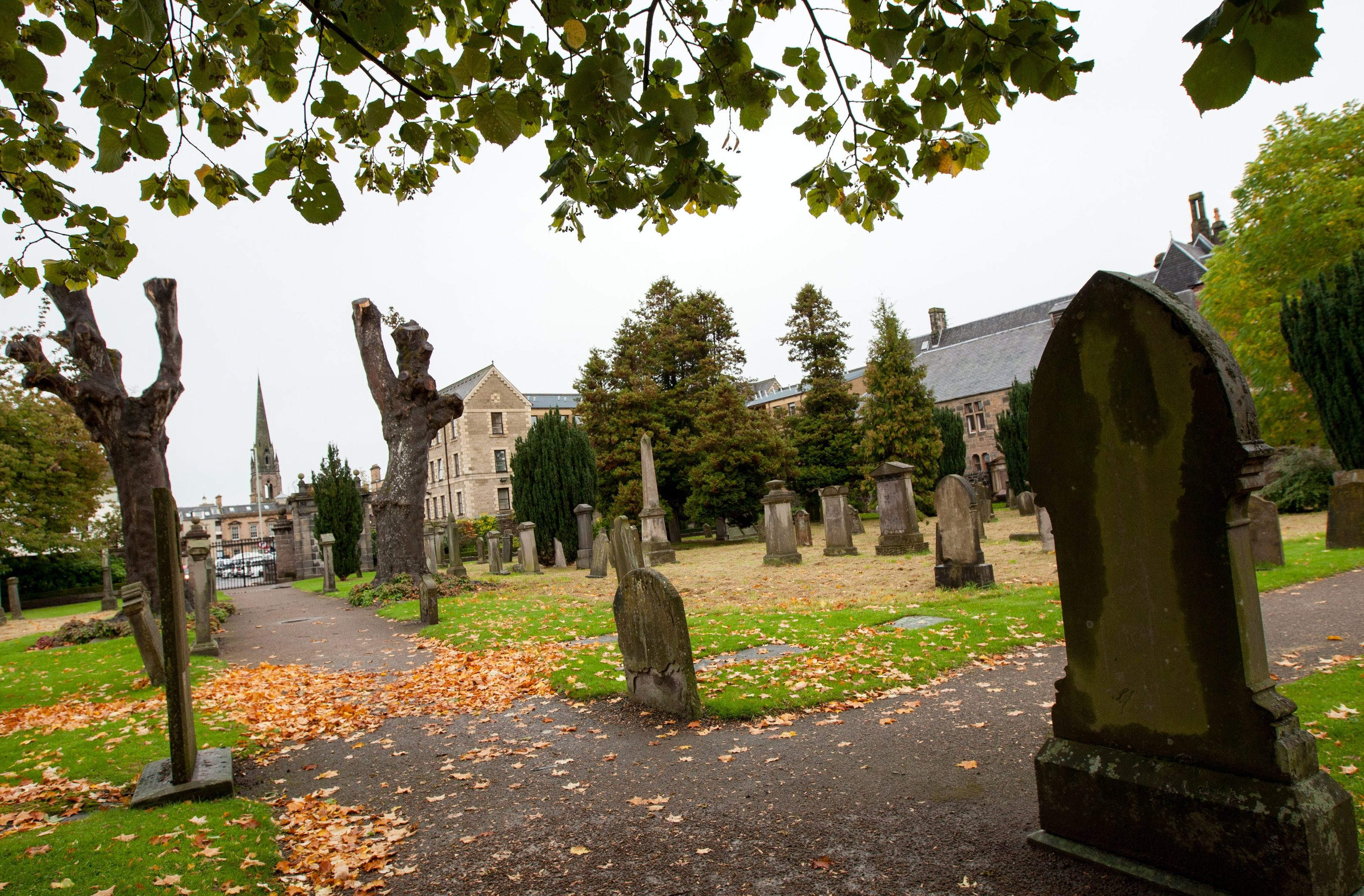 Greyfriars cemetery in Perth.