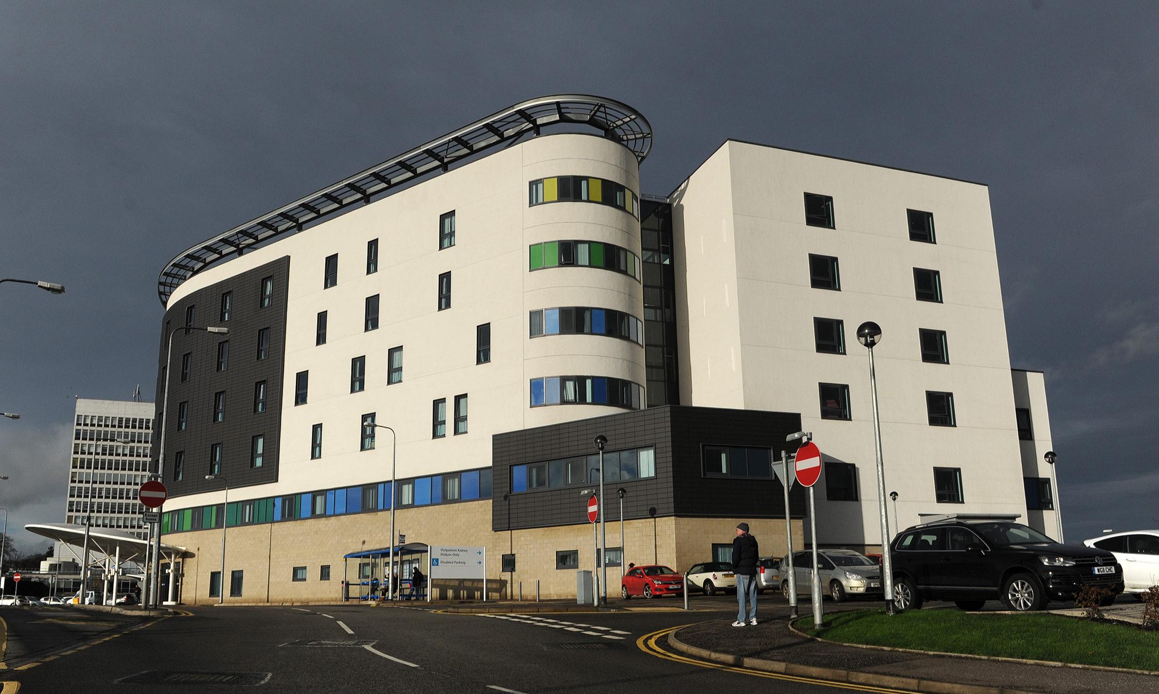 Kirkcaldy's Victoria Hospital.