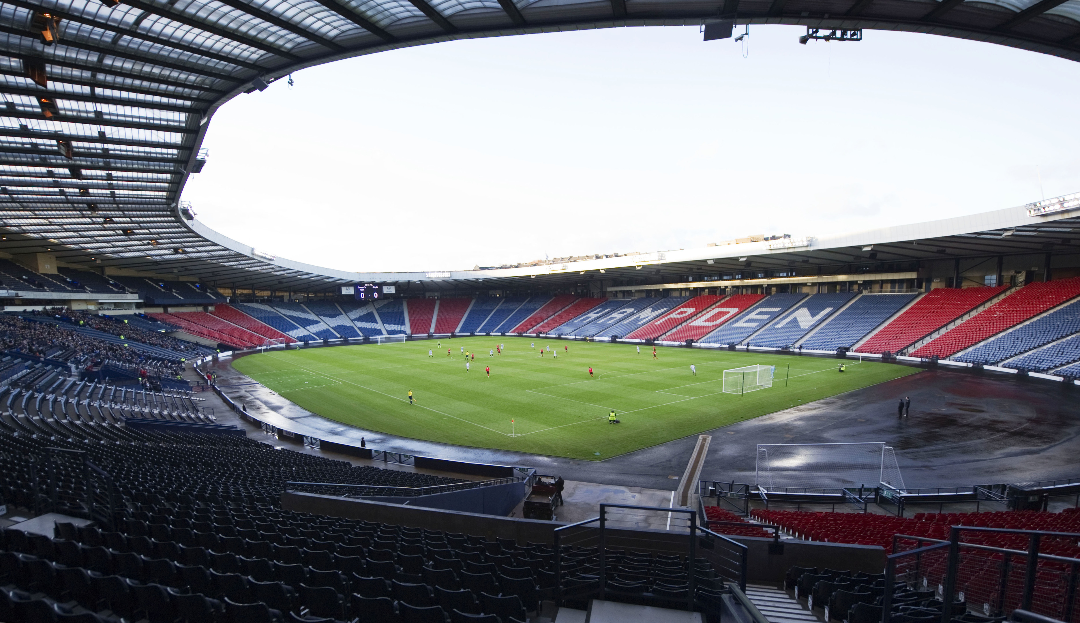 Hampden Park headquarters of the SFA