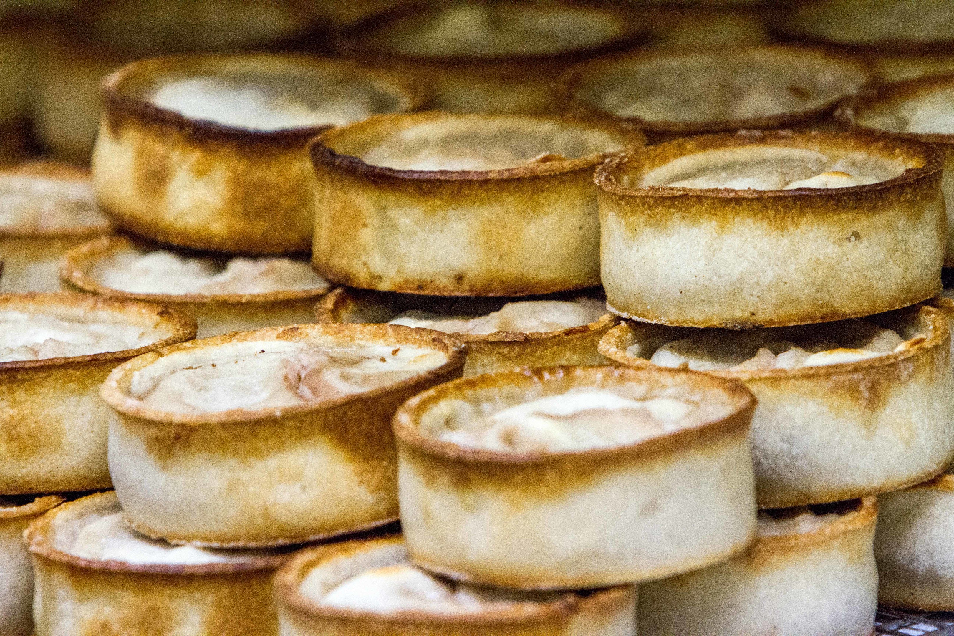 Pies. Lots of pies.