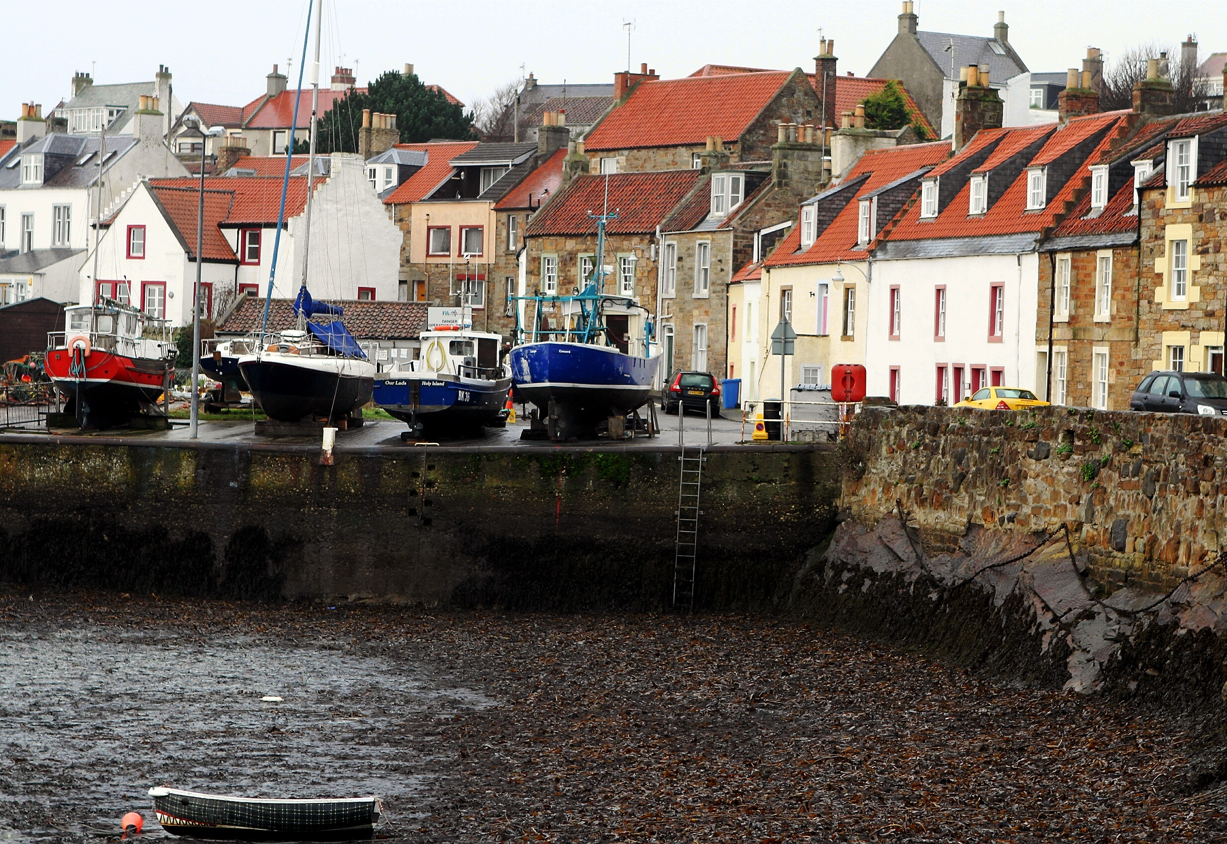 St Monans Harbour is ripe for the right kind of development, according to Richard Wemyss.