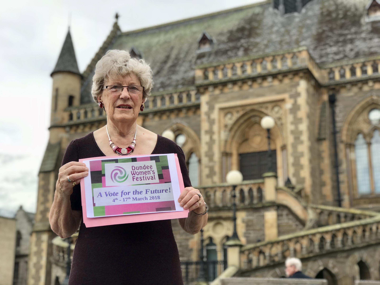 Dundee Women's Festival chair Prue Watson.